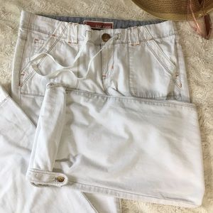 GAP Pants - Gap Pants Roll Up Leg With Buttons and Loops